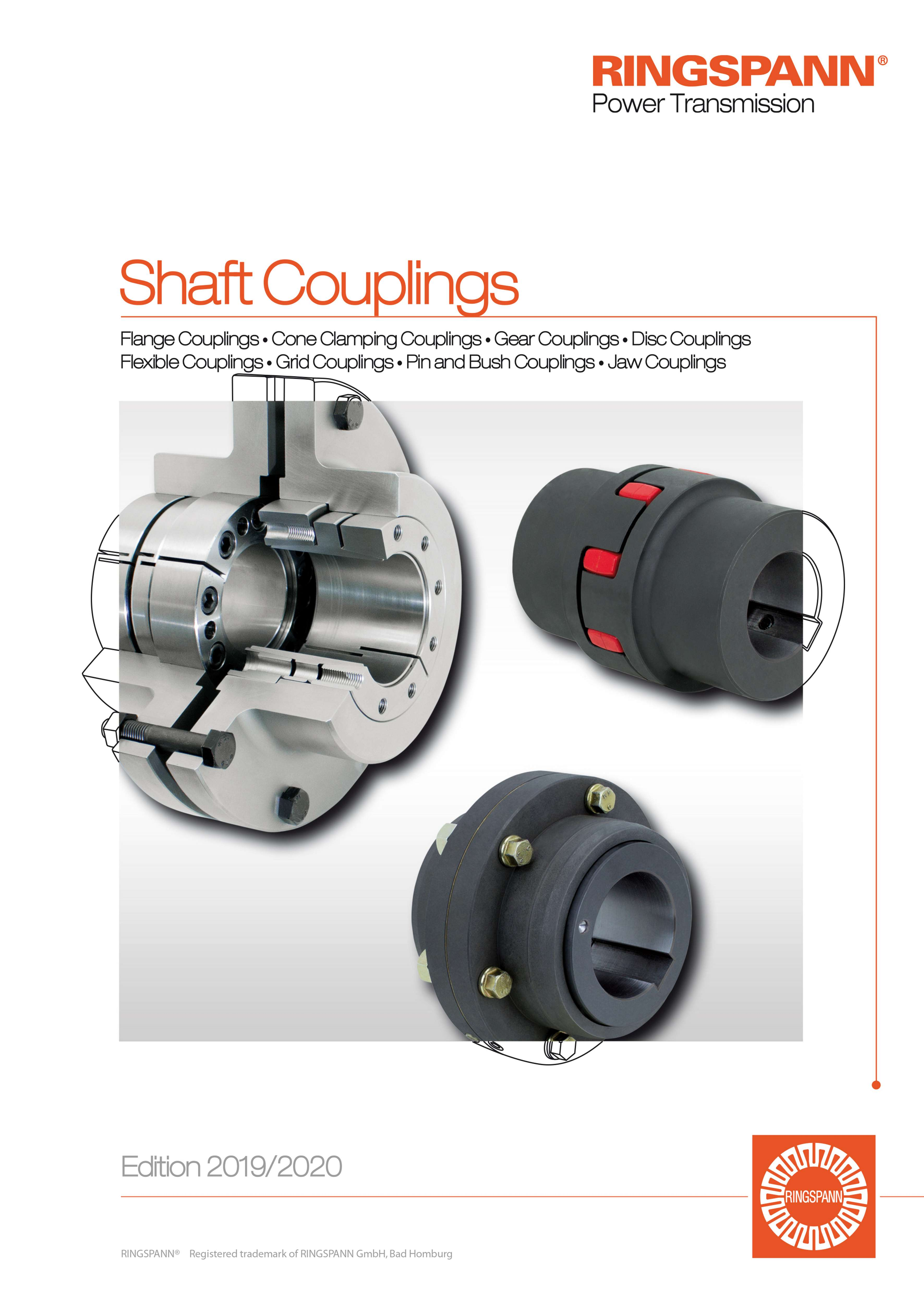 RINGSPANN product catalogue – shaft couplings
