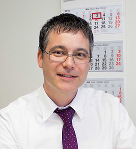 Managing director Christian Kny